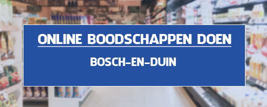 boodschappen bezorgen Bosch en Duin