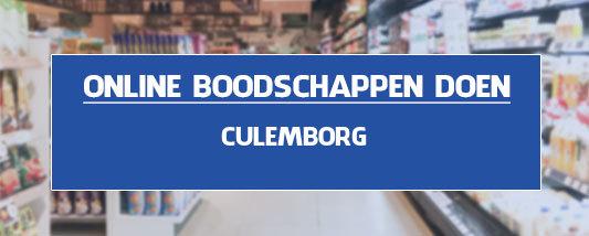 boodschappen bezorgen Culemborg