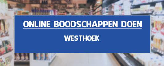 boodschappen bezorgen Westhoek