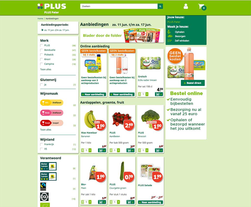 Online Boodschappen Bestellen Bij Plus Bezorgen En Afhalen