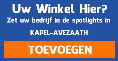 Supermarkten aanmelden in Kapel Avezaath