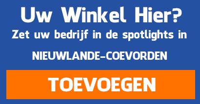 Supermarkten aanmelden in Nieuwlande Coevorden